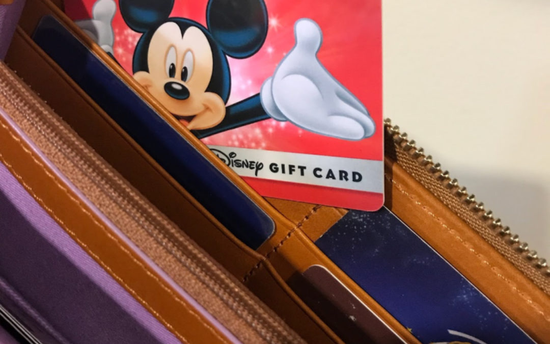 6 Tips for using Disney Gift Cards