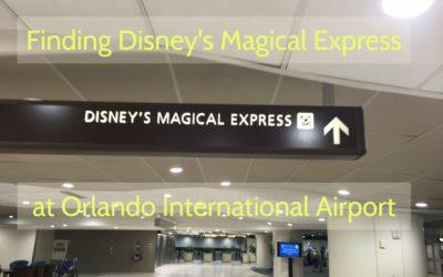 Finding Disney's Magical Express® at Orlando International Airport (MCO)