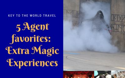 5 Agent Favorites : Top Extra Magic Picks for your Disney World Vacation