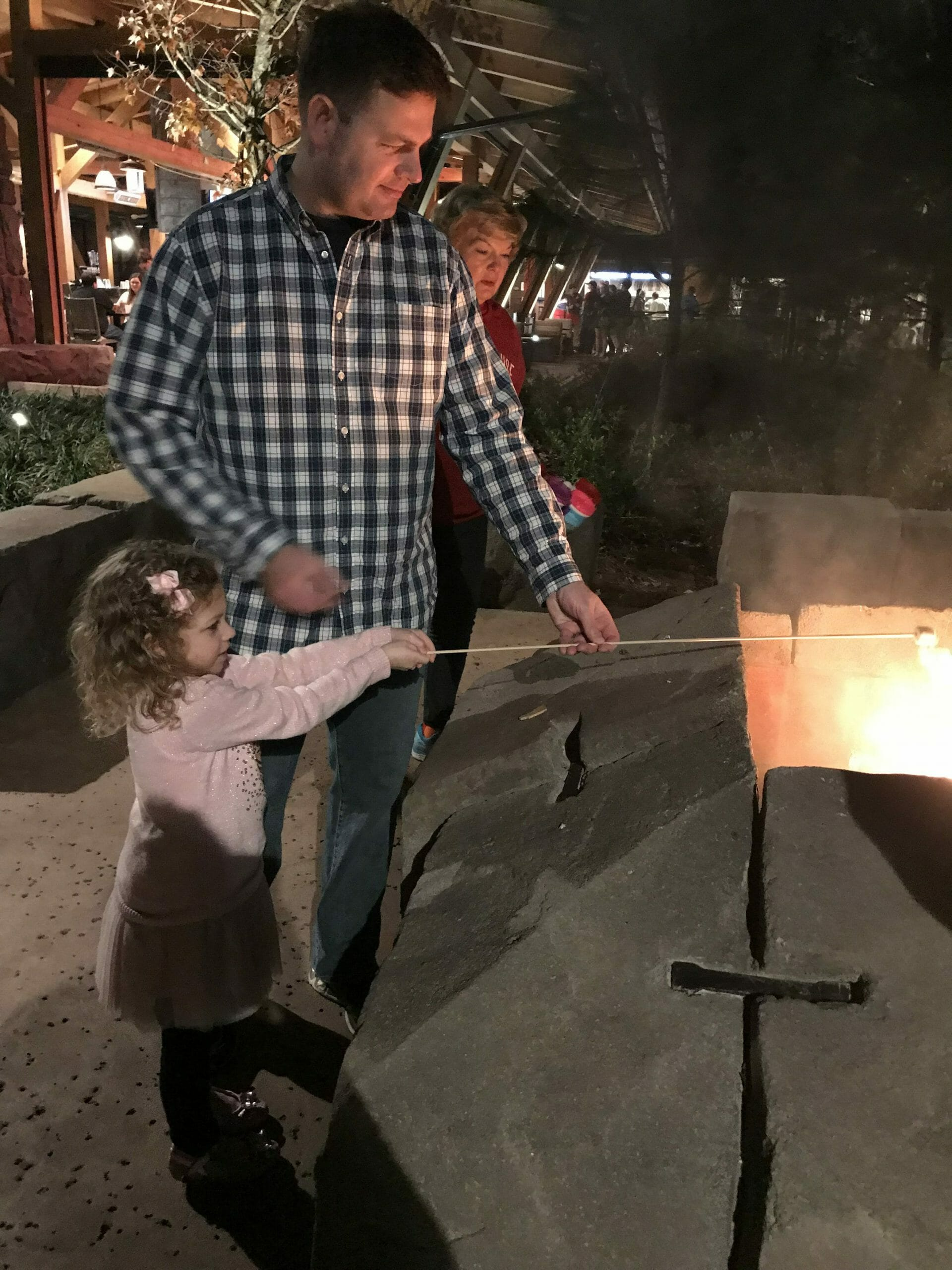 Wdw Day Off Roasting Marshmallows Renee Burton Key To
