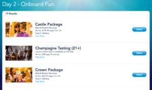 Disney Cruise Line Online Check-In