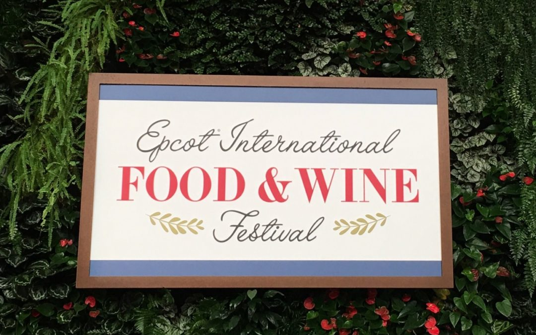 2019 Epcot® International Food & Wine Festival – Full Menu List