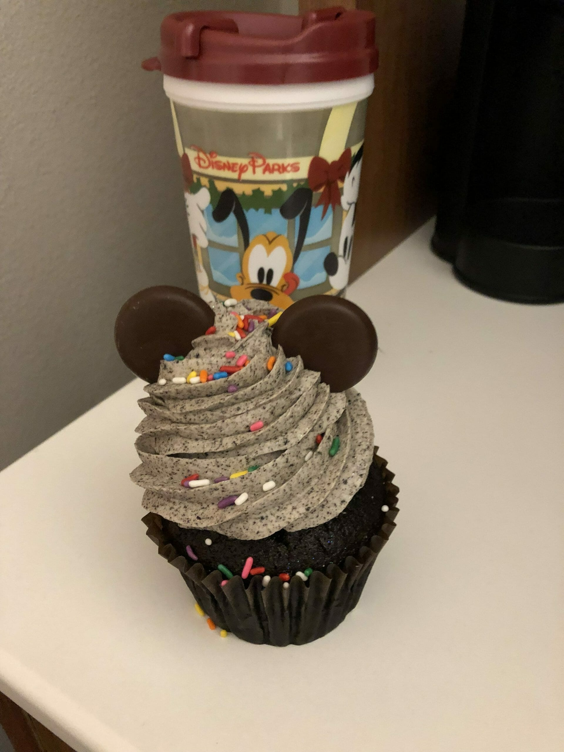 Snack Credit - Mickey Cupcake