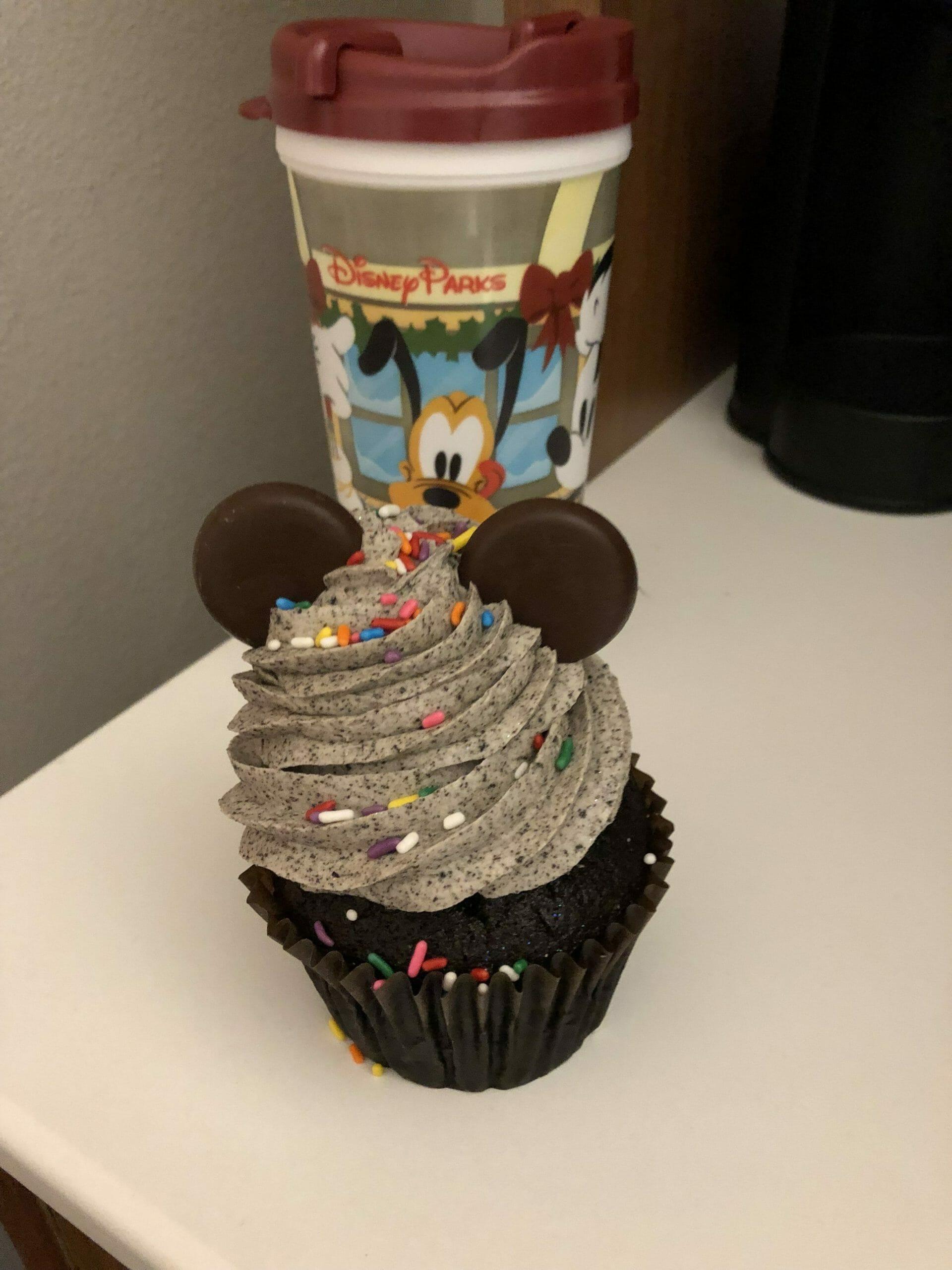 Snack Credit - Mickey Cupcake