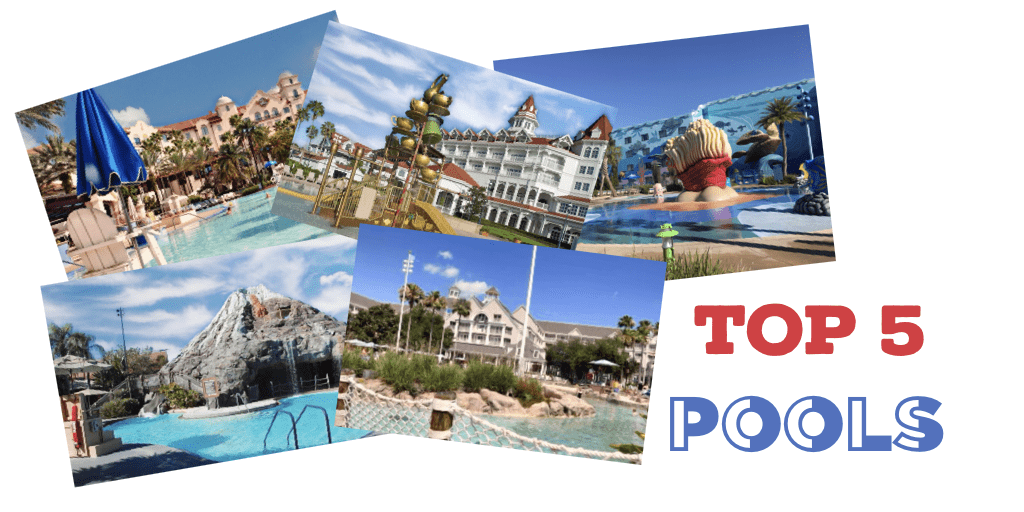 Top Five Theme Park Resort Hotel Pools
