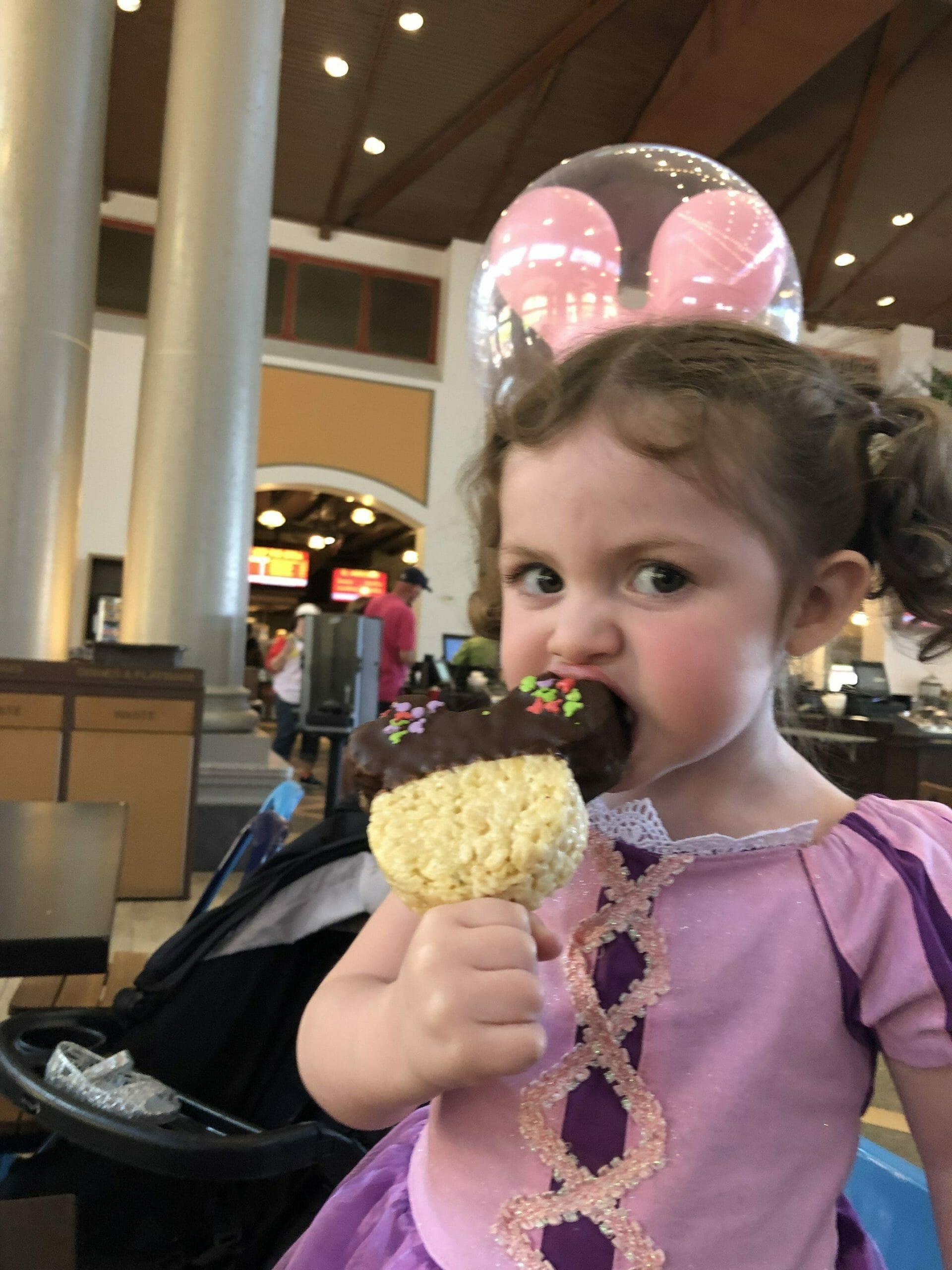 Snack Credit - Mickey Rice Crispy Treat