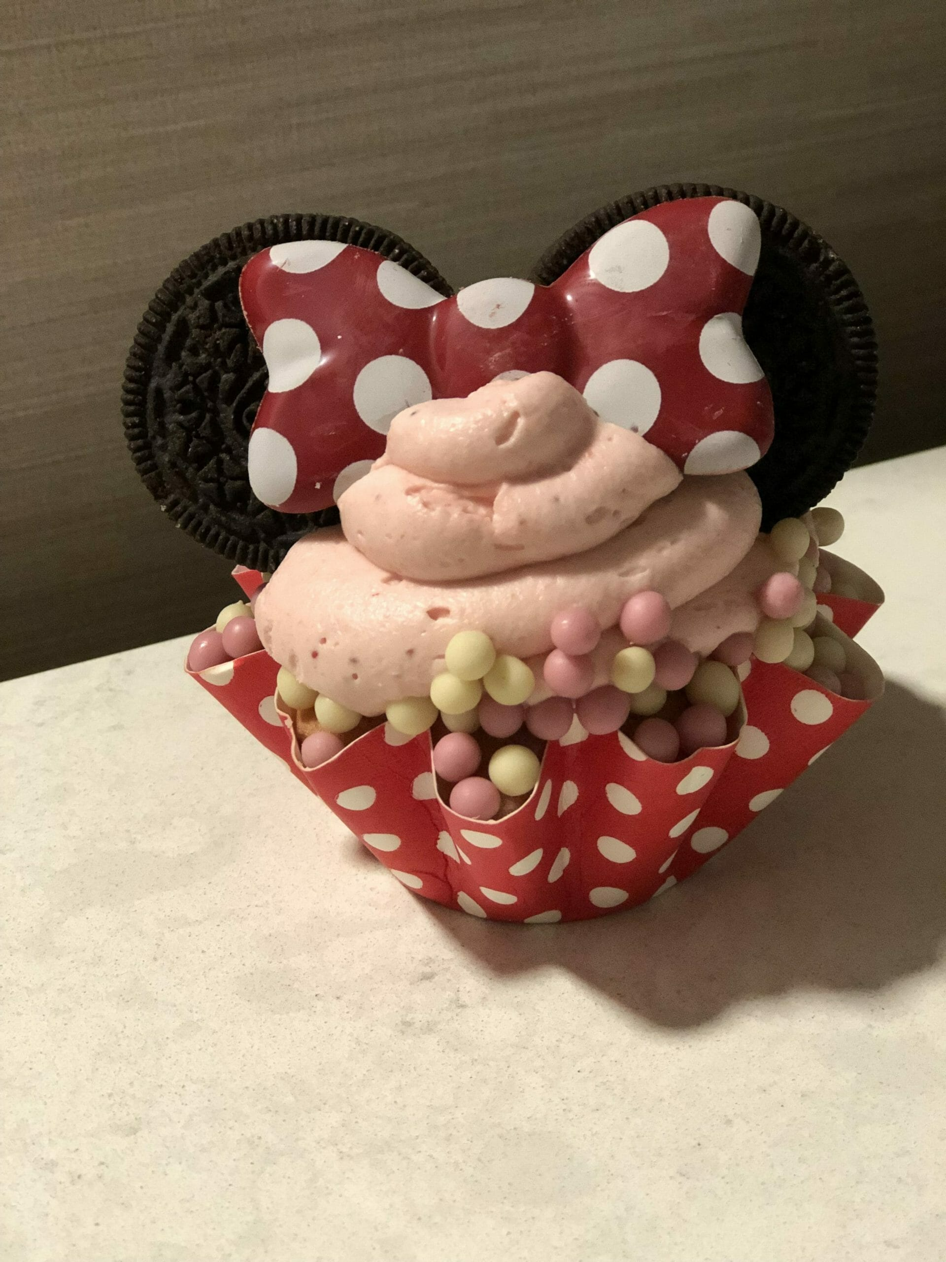 Snack Credit - Minnie Cupcake
