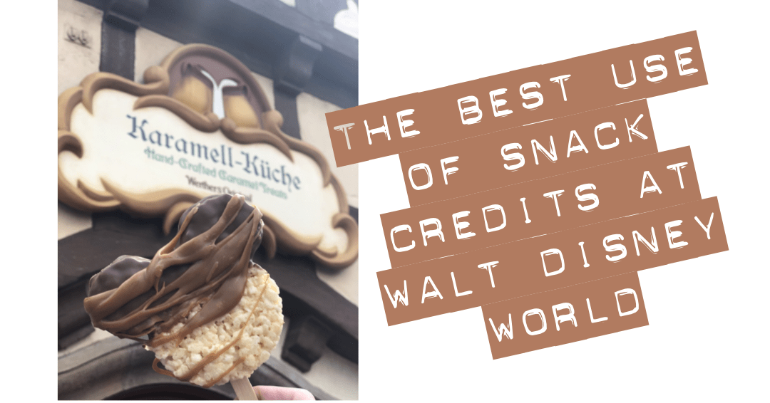 Best Use Of Snack Credits at Walt Disney World®