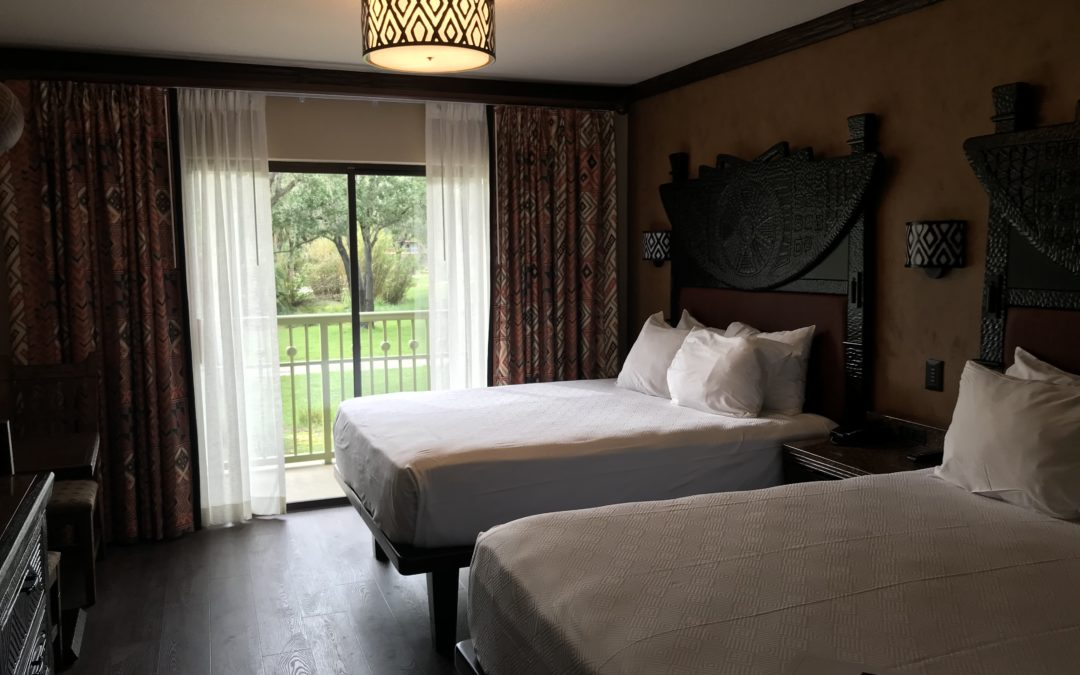 Disney's Animal Kingdom Lodge Room Refurbishment