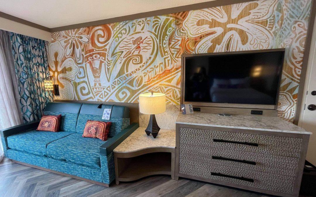 Disney's Polynesian Village Resort- Moana Themed Rooms